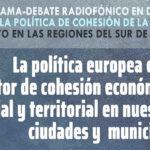 Clara Aguilera participa en un debate radiofónico sobre la política europea como factor de cohesión en Andalucía