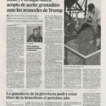 Clara Aguilera reclama medidas a Bruselas