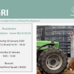 Newsletter de la Comisión de Agricultura . Número 8 del 22 de enero de 2020