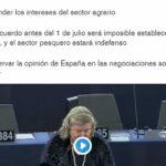 Intervención de Clara Aguilera sobre el Brexit durante el pleno celebrado en Estrasburgo el día 11 de febrero