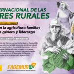 Iratxe García y Clara Aguilera participan en la celebración del Día Internacional de las Mujeres Rurales